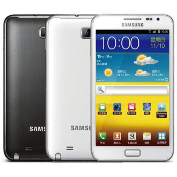 best selling Refurbished Original Samsung Galaxy Note N7000 5.3 inch Dual Core 1GB RAM 16RM ROM 8MP 3G Unlocked Android Mobile Phone Free DHL 5pcs