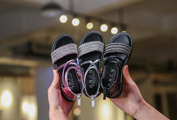 NEW Designer slipper Gear bottoms girl striped Pearl sandals causal Non-slip summer huaraches slippers flip flops slipper BEST QUALITY
