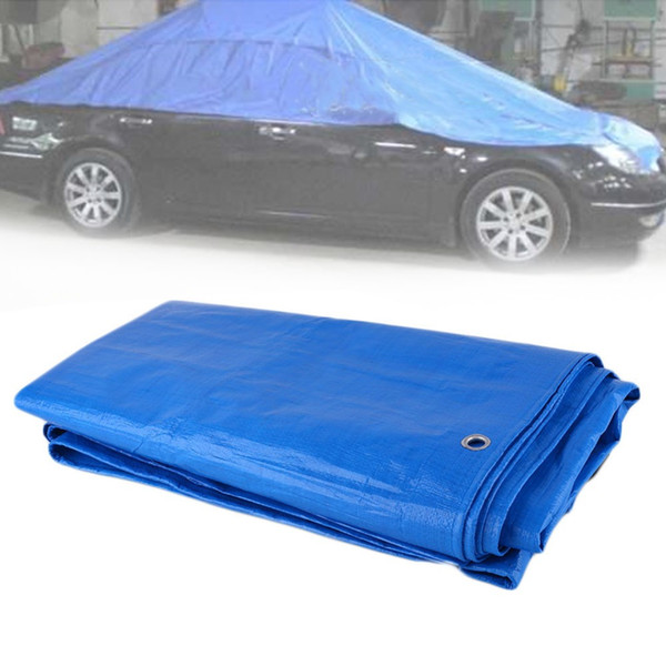 2mx3m car canvas tent anti-aging sunscreen waterproof tarp pvc sheet roof shelter outdoor canopy car accessories thumbnail