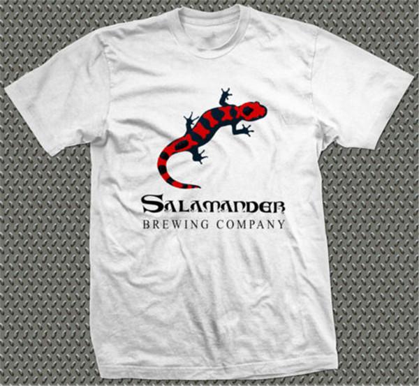 Erkekler Salamander Brewery Baskılı Tişört Bira Festivali Real Ale camra Pub Casual Mizahi Tişörtlü Erkek Unisex New Fashion Soğuk