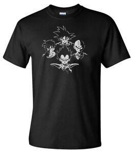 Dragon Ball Z RhapWholesaledy Hombres 039 s Anime T Shirt