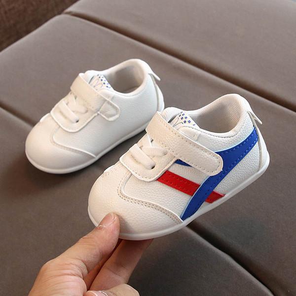 2020 zapatos de niño del bebé zapatos de bebé niña zapatos del niño A9095 formadores zapatillas de deporte zapatillas de deporte infantiles bebé lactante zapatillas de deporte