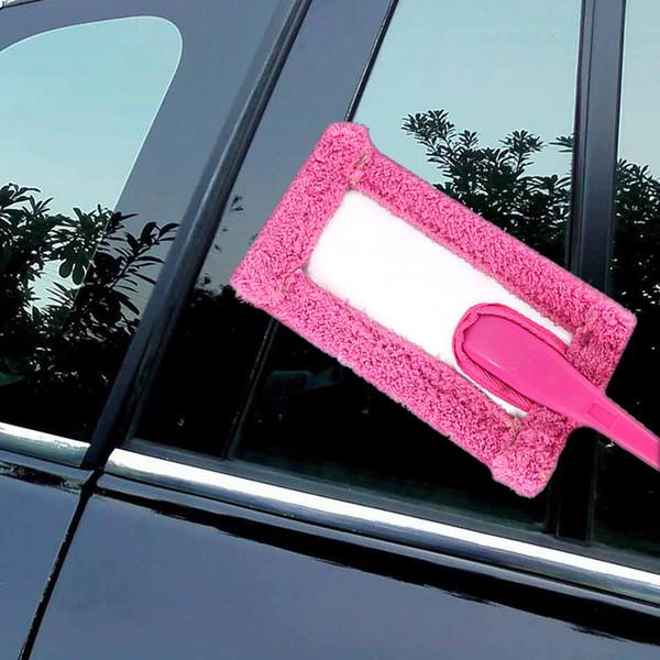 1x mikrofaser autofenster scheibenreinigung pinsel handlich auto auto wischer reiniger 4 farbe schnell einfach sauber reinigungswerkzeug
