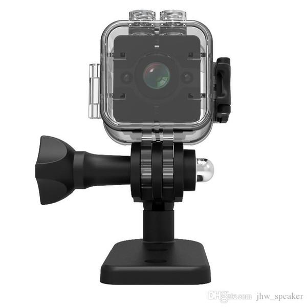 SQ12 PK SQ11 Mini Câmera HD Esporte Ação Gizli Kamera Com Shell À Prova D 'Água Night Vision Sensor de Movimento Micro Pequeno Câmera de Bolso Cam