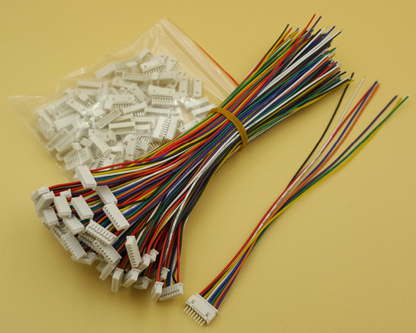 Free Shipping 500Set Micro JST SH1.25 8Pin Connector Plug with Wire 150mm 28AWG