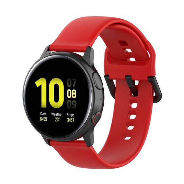 L Bracelet de mode compatible avec le bracelet de mode de montre intelligente de Samsung de vitesse de montre de taille 20mm de Samsung compatible de montre de sport / de galaxie pour l'acier Withings HR 40mm