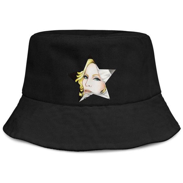 Womens Mens Plain Regolabile Madonna Art Queen Of Pop Punk Hip-Hop Berretto da baseball in cotone Golf Secchi Cappelli Cadet Army Caps Airy Maglie cappelli per M