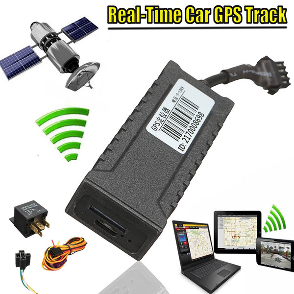 Freeshipping Mini Realtime Car Vehicle Motorcycle GSM GPS Tracker Locator Global Real Time Tracking Device New