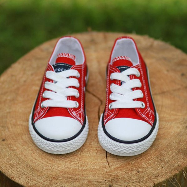 Sneakers Baby Girls Canvas Shoes Kids New Color Spring Children Shoes Girls High Quality Kids Boys Sneakers Rubber Girl Shoes