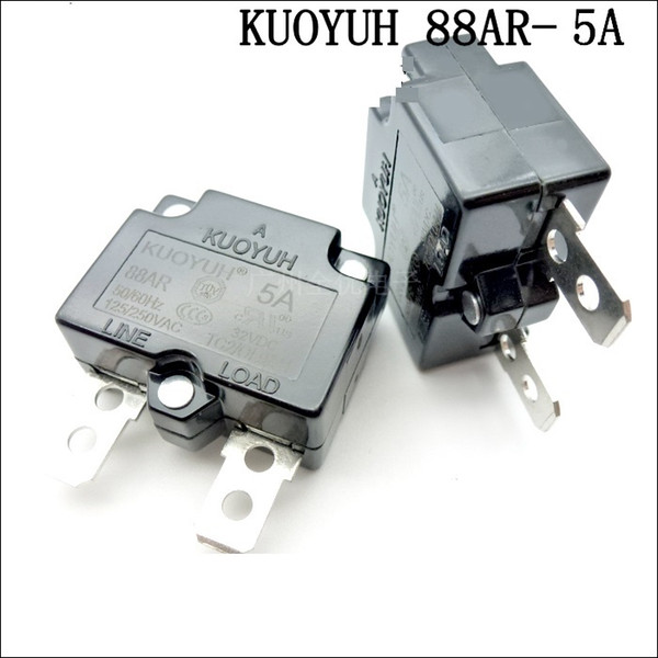 best selling Taiwan KUOYUH 88AR-5A Overcurrent Protector Overload Switch Automatic Reset