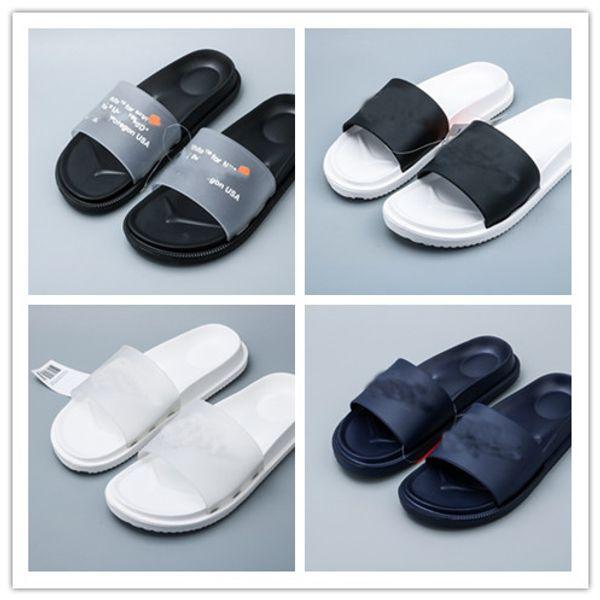 flip flop Designer Rubber slide sandal Floral brocade men slippers Gear bottoms Flip Flops women striped Beach causal slipper