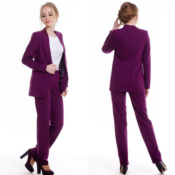 Custom Made Mother of the Bride Dresses Ladies Party Suits Blazer Pant Formal Office Work Sexy Tuxedos