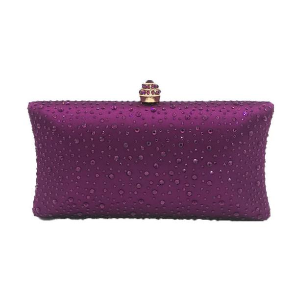 Purple Crystal Bag