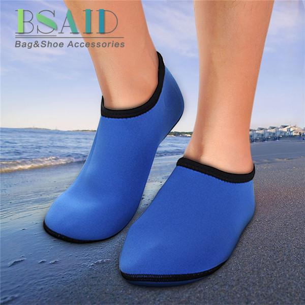 Acheter BSAID Chaussure De Plongée Couvre Bottes De Pluie Chaussette Élastique Surf Natation Sport Nautique Sable Moto Pied Mouillé Chaud 2.5MM Taille