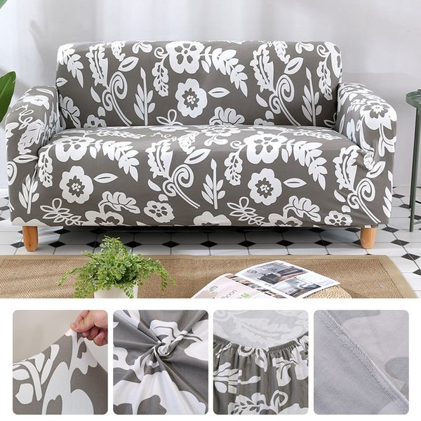 Sofa Cover Cloth Printed Sofa Covers 2 And 3 Seats Modern Covers For Living Room Sa47026 Dining Room Chair Seat Covers Armchair Slipcovers From