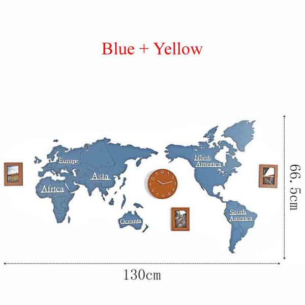Blau + Gelb