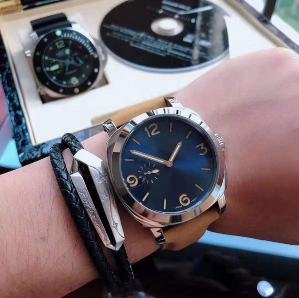 Top 2019 Men Wristwatches tourbillon mechanical High Qualtiy Automatic Movement Mens Super Big dial Sports Watch
