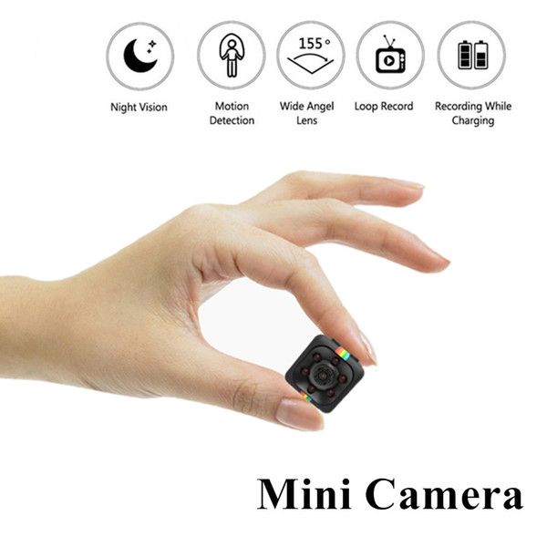 SQ11 Mini Camera digital camera 480P/1080P Full HD Night Vision Camcorder Car Video Recorder Sport Digital Camera Support TF Card wholesalee