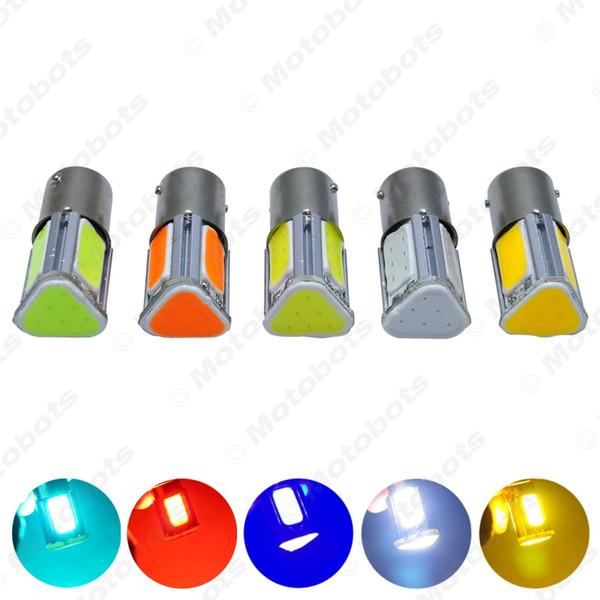 10 шт. / Пакет Автомобиль 1156 BA15S 4-сторонняя УДАРА 42SMD Авто 42Led Сигнал Поворота Лампы Светодиодная Лампа 7-цветный # 5318