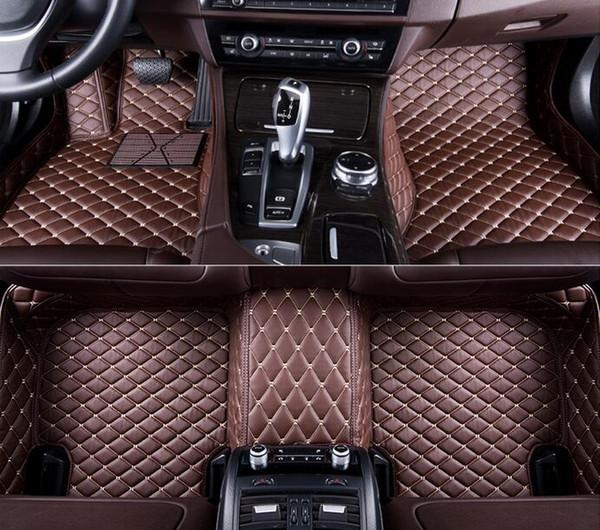 top popular For Fit Mercedes Benz C300 2008-2017 All-Weather Waterproof Front Rear Auto Car Floor Mats Waterproof Mat 2019