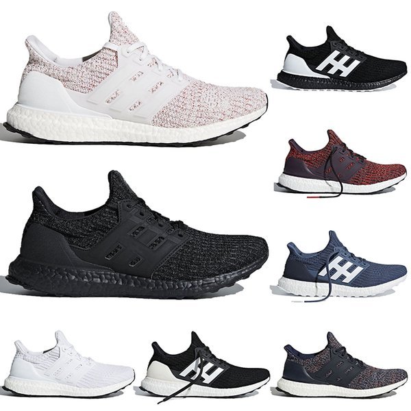 Triple Wholesale Black White Blue Ultra 4.0 Running Shoes Orca Ash Peach Candy Cane Women And Men Athletic Primeknit Runner Shoes 36-45