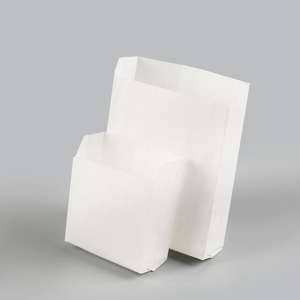 Перга завтрака жареных закусок бумажного мешок курица отбивной мешок французский картофель жареный цыпленок упаковка одноразовой доказательство масло бумажный мешок