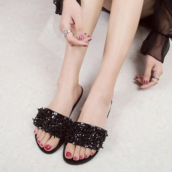 Fascinating2019 Flat Bohemia Women Sandals Elegant Shoes Summer Flip Flops