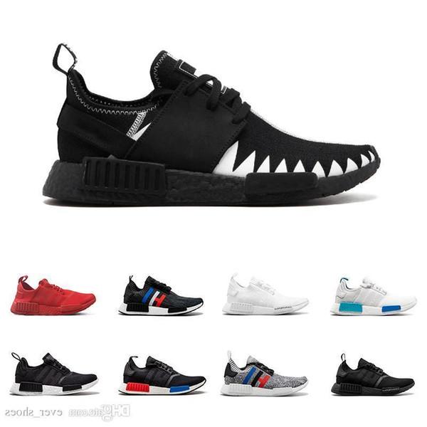 2019 Nmd Runner R1 Primeknit R2 Laufschuhe Rutschfeste Turnschuhe Stiefel Xr1 Männer Frauen Nmds Chaussures Zapatos Größe 36-45