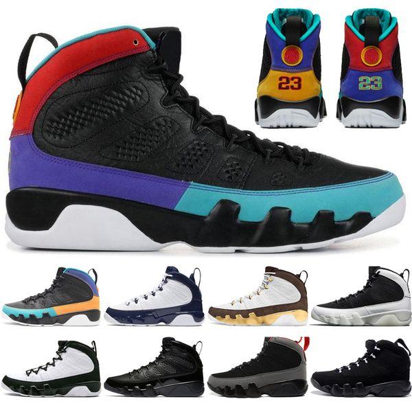Hot Sale 9 9s Dream It Do It UNC Mop Melo Zapatillas de baloncesto para hombre LA OG Space Jam men Bred Antracita Negro zapatillas deportivas de diseño zapatillas de deporte