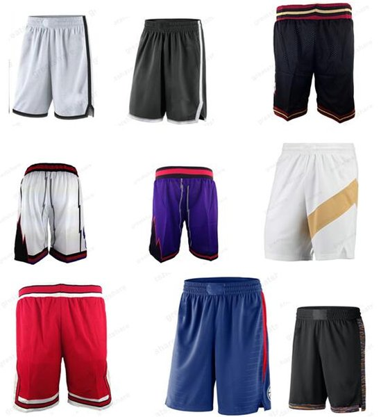 top popular Men's New Season Basketball Sports Fitness Shorts Wear Lightweight Breathable Sweatpants Casual Loose Ball Pants Mens all Stitched S-XXL 2019