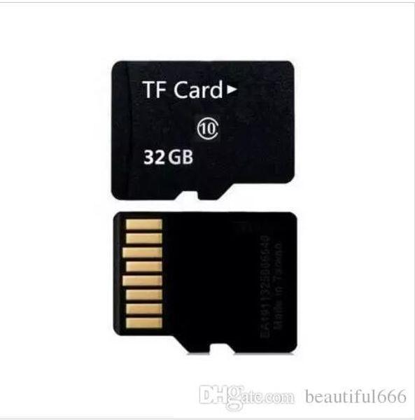 Original 64GB 32G Speicherkarte 32gb Klasse 10 Micro-Karte TF-Kartenadapter + Kartenleser