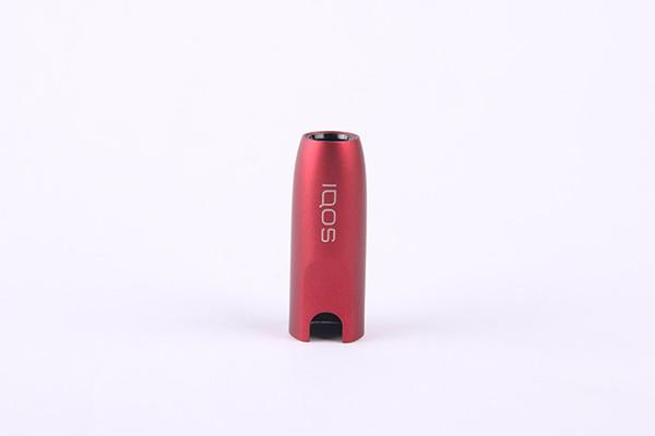 In magazzino IQOS 2.0 3.0 plastica morbida E-sigaretta colore protettivo Shell cover in pelle per accessori sigaretta IQOS E Ultra sottile An