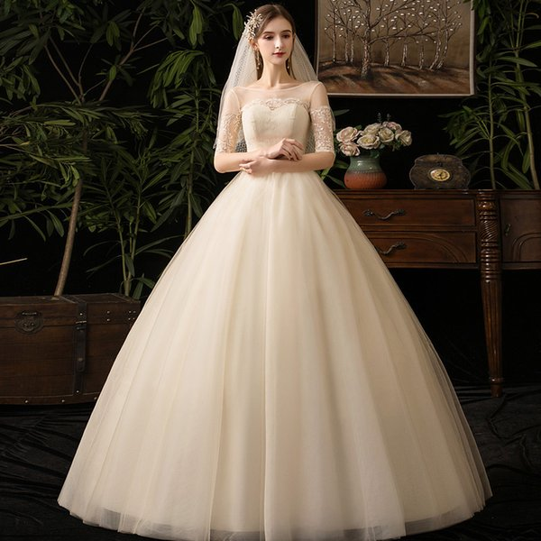 fashion new come style for grils stock item Champagne Wedding Garment Summer Bride Style Bride Bridesmaid Dress