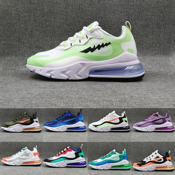 2020 Version 2.0 React Turbo Green Bauhaus Optical Travis Scot Cushion Running Shoes Hyper Jade Run Sports Trainers Sneakers Eur 36-45