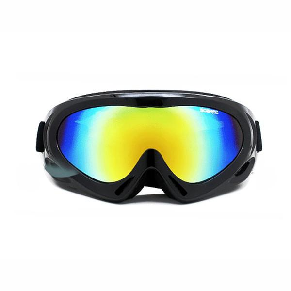 Snowboard Snowmobile Professional MX Ski Snow Goggles Mask Removable Anti Fog UV