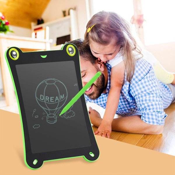 8.5 Inch LCD Writing Tablet Digital Handwriting Drawing Board Frog Shape With Stylus Pen Christmas Gift For Kids