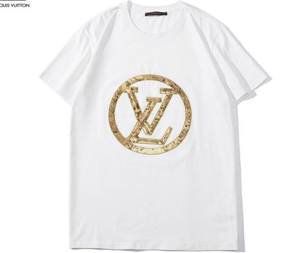 2019 yeni Hip Hop supremn kış erkek t-shirt Kısa Kollu% 100% Pamuk polo gömlek erkekler teel kalça erkek g t shirt