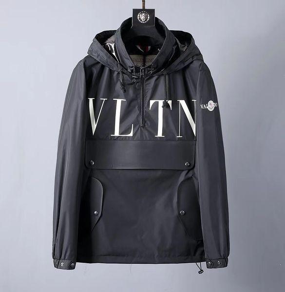 top popular 2019 new brand men's hoodie letter printing men's Medusa casual jacket designer jacket men's jacket 2019