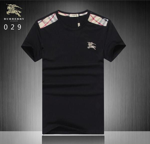 fashion mens polo tops 2020 Brand New Summer t shirts men poloshirt shirt High street men's polos GG1307