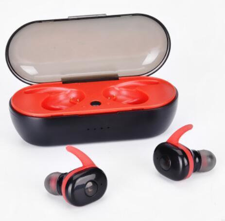 TWS-1350 TWS casque sans fil bluetooth écouteur mini-casque stéréo à jumeaux avec micro intégré et boîte de chargement de stockage 10pcs