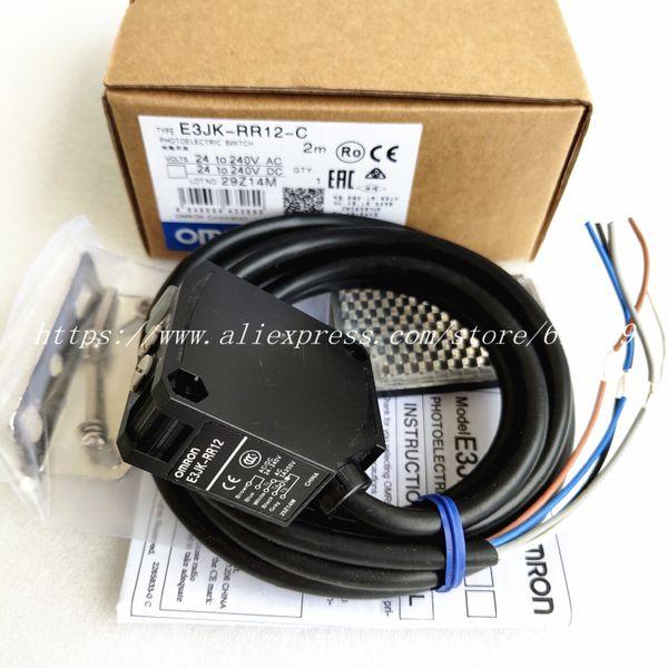 Фотоэлектрический датчик E3JK-RR12-C Omron New High-Quality