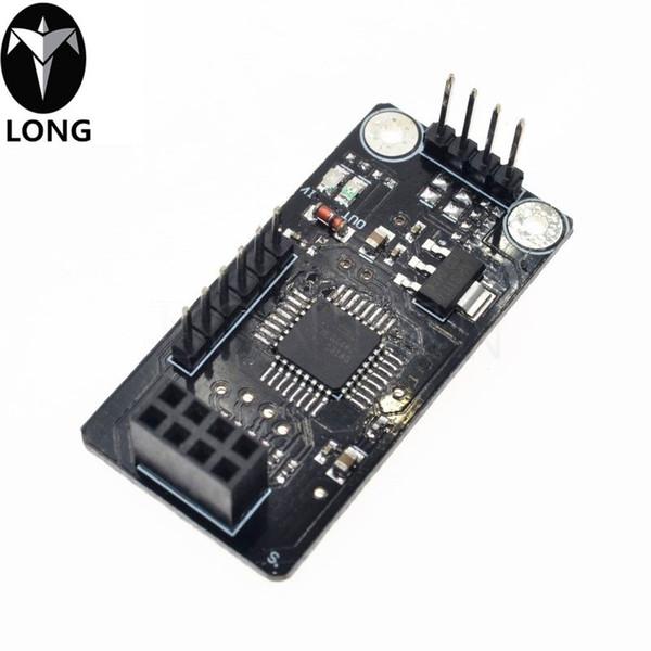 Пластина Longteng NRF24L01 Разъем платы адаптера ATmega48 модуль беспроводной Shield SPI к IIC I2C TWI интерфейса