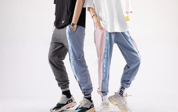 uomini pantaloni di marca di lusso Via hip hop paio di jeans di moda giuntura ricamo rand mens abiti di lusso pantaloni selvaggio equitazione vendita calda pp 00