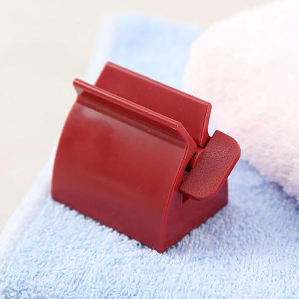 New Tubo rolamento Squeezer pasta de dente Squeezer Toothpaste Dispenser Acessórios para Banheiro