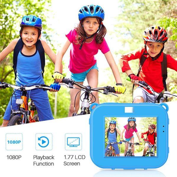 ALLOYSEED AT-G20 Children Kids Camera Waterproof 5MP 2.0 inch LCD HD 1080P Digital Camcorder Birthday Gift