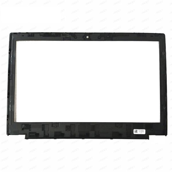 Original nuevo para Lenovo ThinkPad X260 X270 LCD bisel frontal cubierta del marco de pantalla no táctil 04X5360 con etiqueta 1366 * 7680 1920 * 1080
