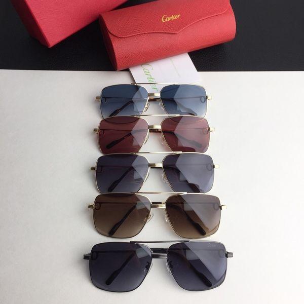 2019 óculos de sol do verão requintado praça óculos de sol fino rosto elegante óculos de sol melhor qualidade casual quente