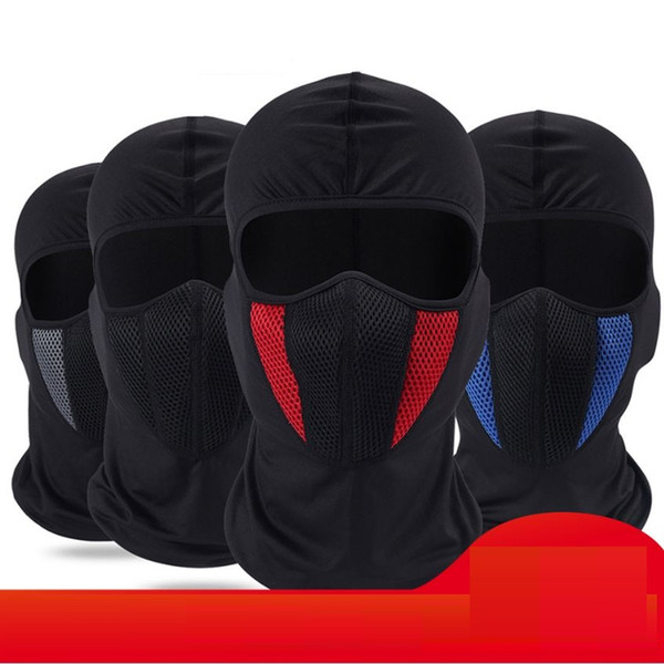 Winter Balaclava Moto Face Mask Motorcycle Face Shield Airsoft Paintball Cycling Bike Ski Army Helmet Full Face Mask