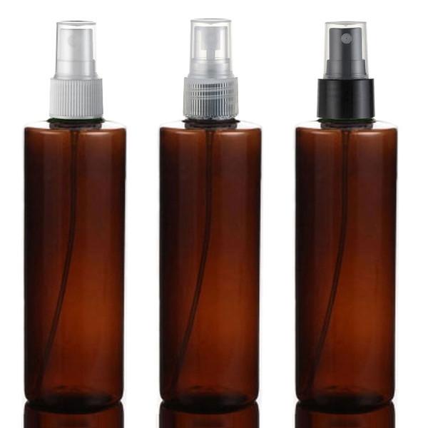 20pcs 250ml bouteille de parfum en plastique cosmétique Rechargeables femmes Maquillage pulvérisation d'eau Container vert atomiseurs
