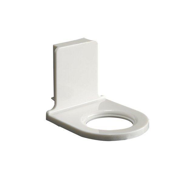 Wall Mounted Bathroom Bottle Holder Plastic Self-Adhesive Shower Gel Shampoo Rack Home Storage Organization 4pcs/lot